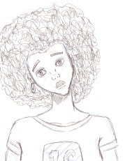 Black Girl - Quick Sketch_JPEG