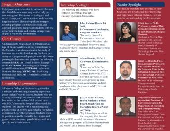 Entrepreneurship Brochure - Page 2