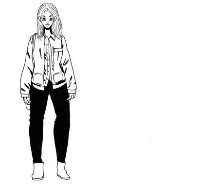 Female Fashion Practice Sketch