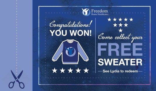Free Sweater Coupon