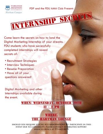 Internship-Secrets